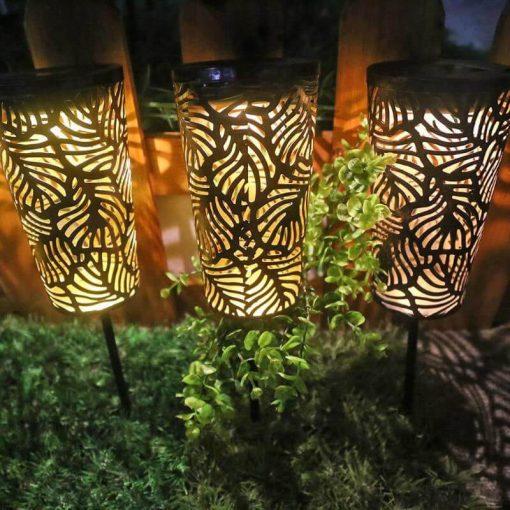 lanterne extérieur led solaire jardin