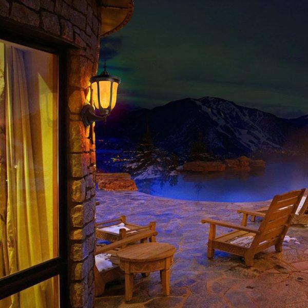 lanterne murale solaire exterieur terrasse