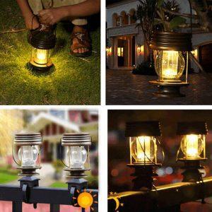 lanterne solaire a poser ou a suspendre LED
