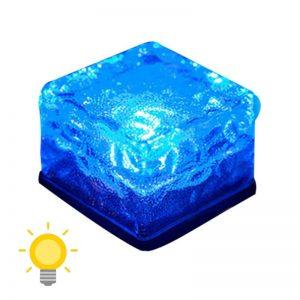 pave solaire bleu