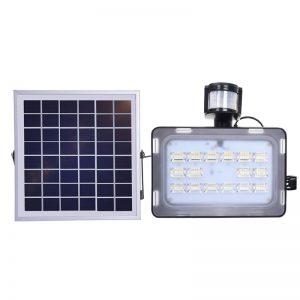 projecteur exterieur solaire haute puissance terrasse