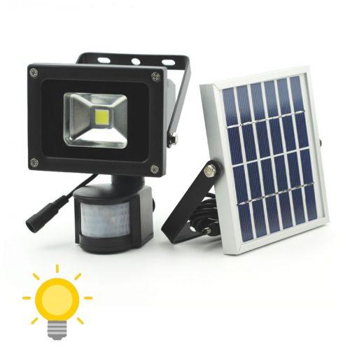 projecteur led solaire avec détecteur de mouvement