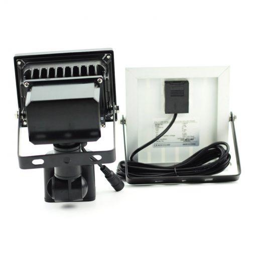 projecteur led solaire avec detecteur de mouvement extérieur