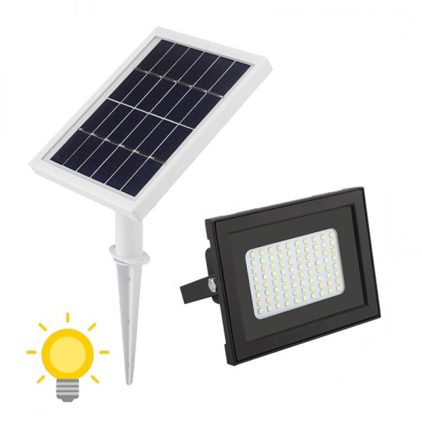 projecteur led solaire jardin