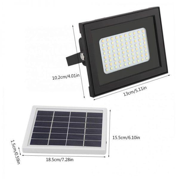 projecteur led solaire jardin puissant