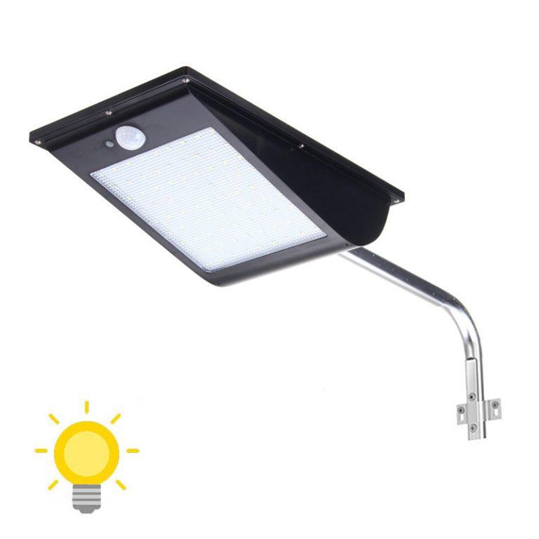 projecteur solaire grande autonomie avec detecteur de mouvement