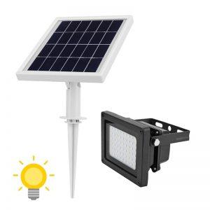 projecteur solaire puissant jardin