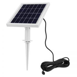 projecteur solaire puissant jardin détecteur