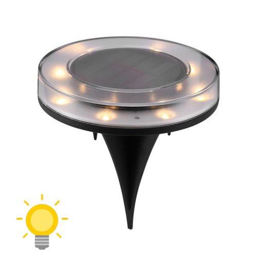spot led exterieur encastrable etanche solaire jardin