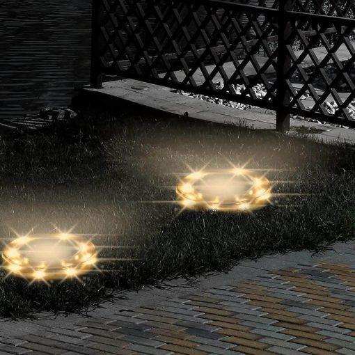 spot led exterieur encastrable etanche solaire puissant