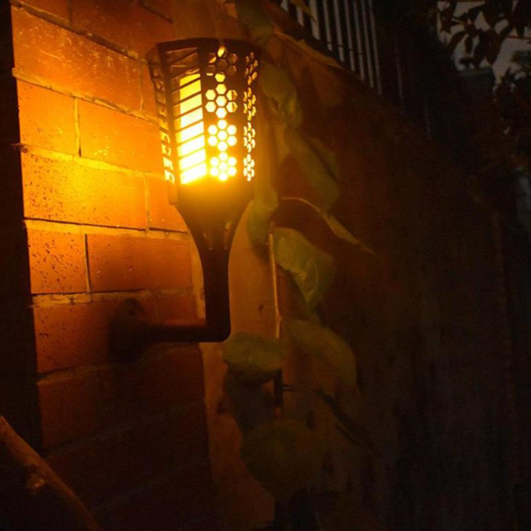torche solaire murale fonctionnement