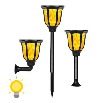 torche solaire pour jardin