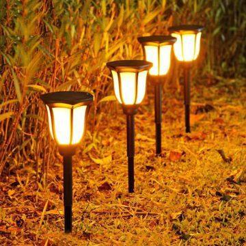 torche solaire pour jardin exterieur