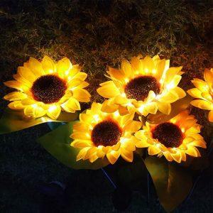 tournesol solaire lumineux