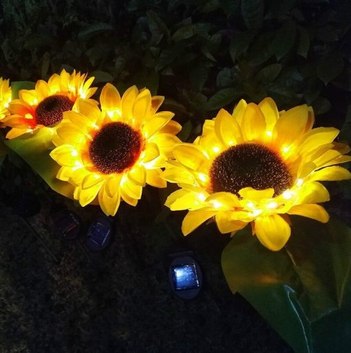 tournesol solaire rechargeable