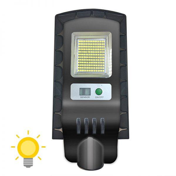 Lampe extérieur LED solaire avec détecteur de mouvement terrasse