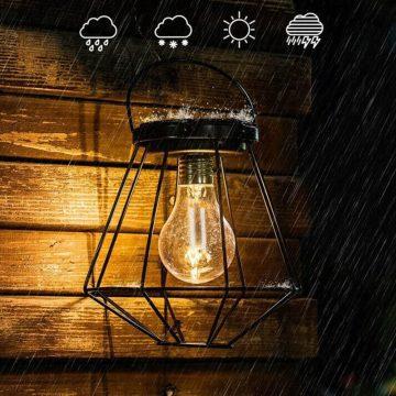 ampoule solaire exterieur a suspendre jardin