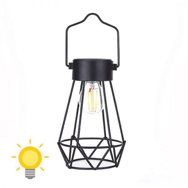 ampoule suspendue solaire