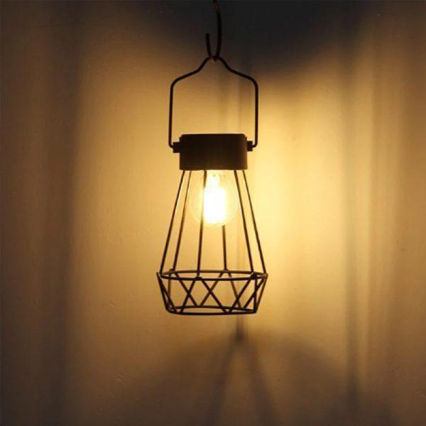 ampoule suspendue solaire exterieur