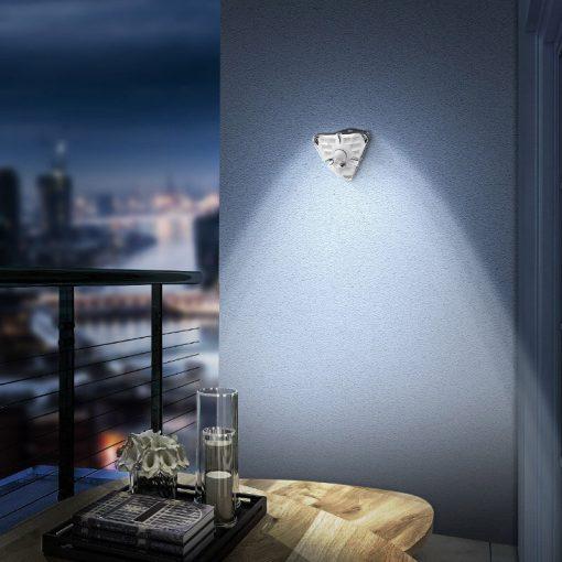 applique exterieur led avec detecteur de mouvement solaire balcon