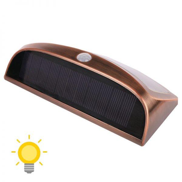 applique exterieur solaire vintage detecteur de mouvement