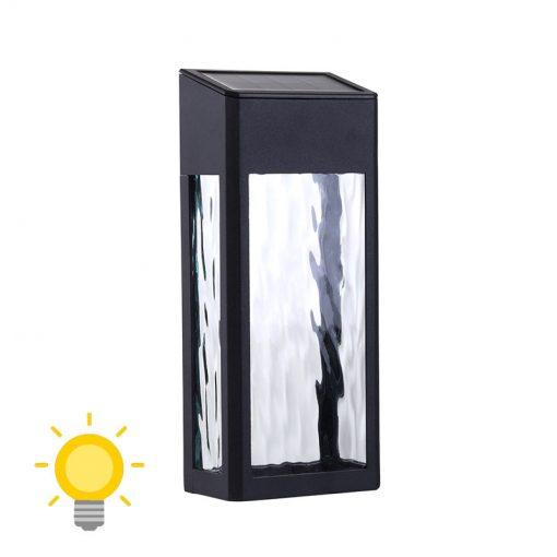 applique murale sans fil solaire