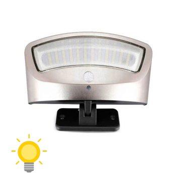 applique murale solaire extérieur avec détecteur