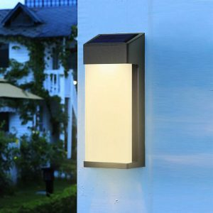applique murale solaire sans detecteur led
