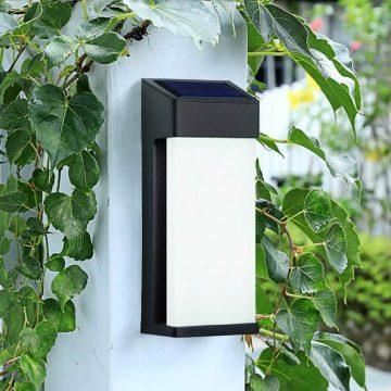 applique murale solaire sans detecteur pas cher