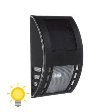 applique solaire noir