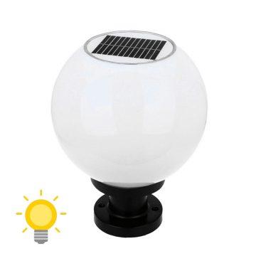 boule eclairage exterieur solaire