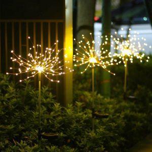 decoration lumineuse solaire jardin étanche