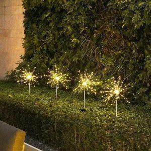 decoration lumineuse solaire jardin exterieur min