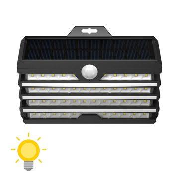 eclairage exterieur applique murale solaire