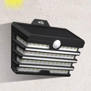 eclairage exterieur applique murale solaire led