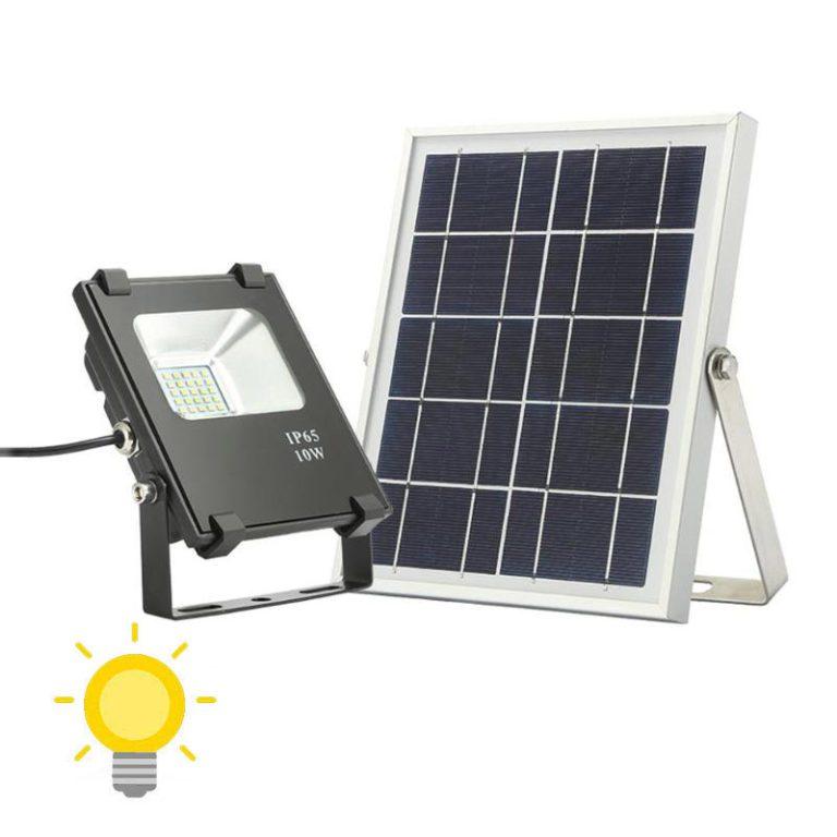 eclairage exterieur solaire de qualite deporte