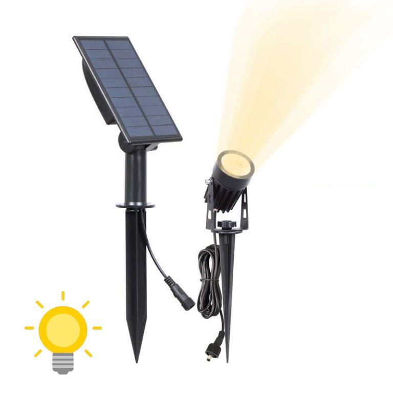 eclairage exterieur solaire de qualite jardin