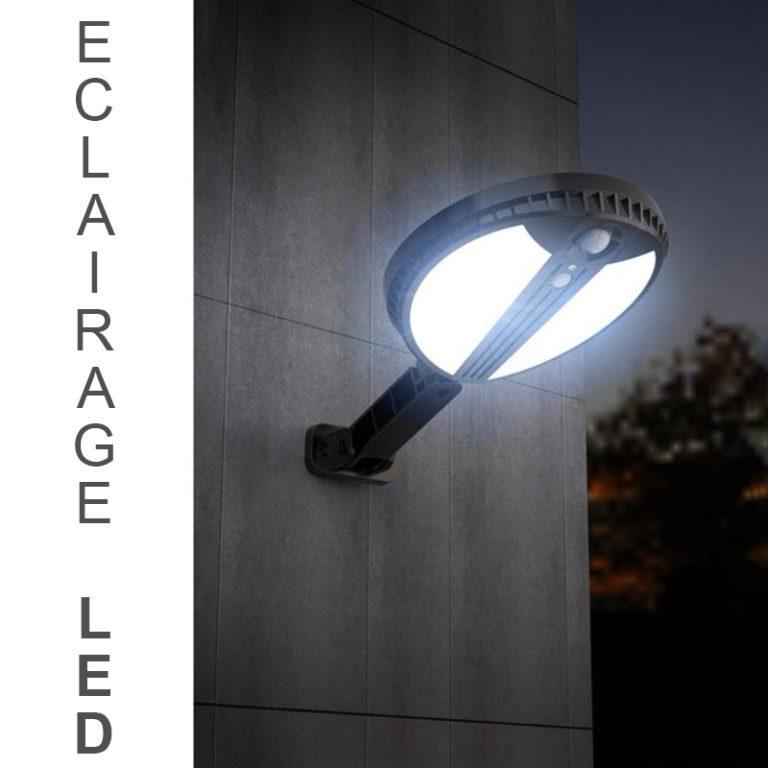 eclairage exterieur solaire de qualite led