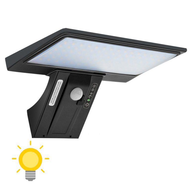 éclairage extérieur solaire de qualité puissant