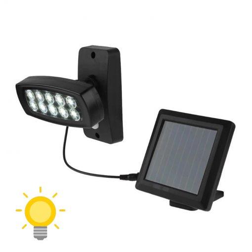 éclairage extérieur solaire projecteur solaire détection mouvement
