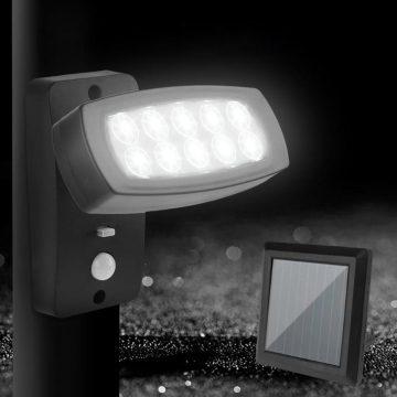 eclairage exterieur solaire projecteur solaire detection mouvement etanche