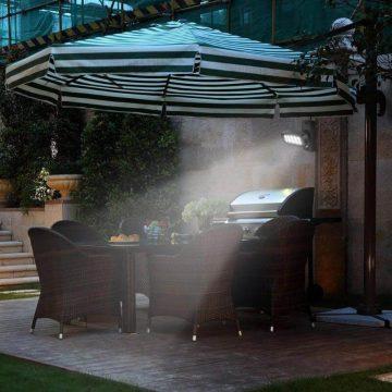 eclairage exterieur solaire projecteur solaire détection mouvement puissant