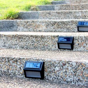 eclairage marche escalier exterieur solaire led