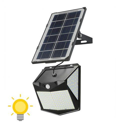 eclairage solaire déporté