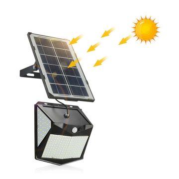 eclairage solaire déporté extérieur