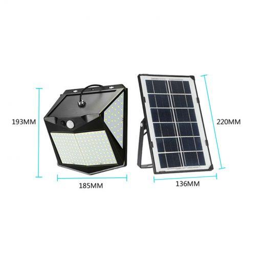 eclairage solaire déporté led