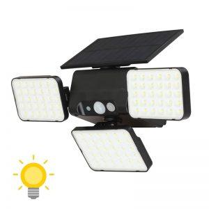 éclairage solaire extérieur avec telecommande