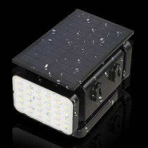 eclairage solaire exterieur avec telecommande led