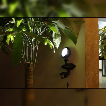 eclairage terrasse led solaire puissant