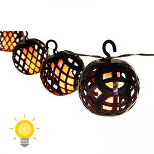 guirlande lanterne solaire